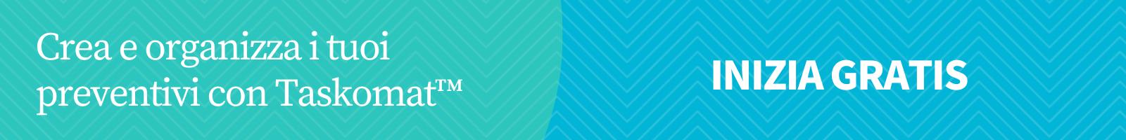 Crea e organizza i preventivi con Taskomat