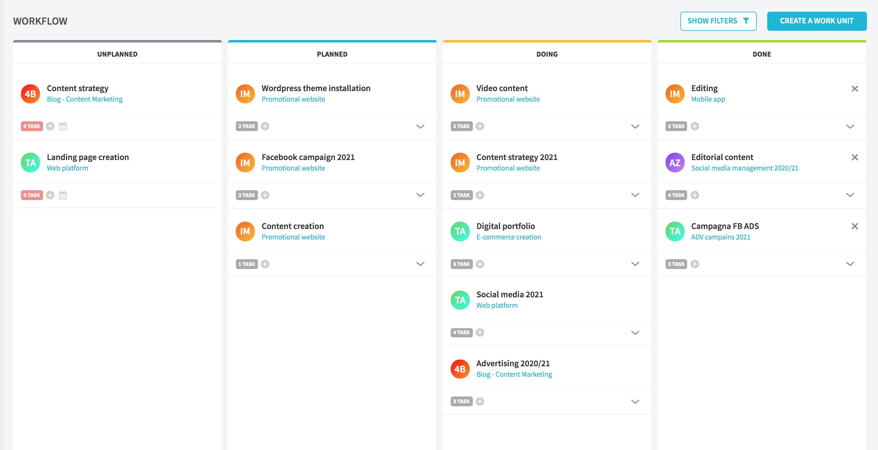Taskomat task and project management software